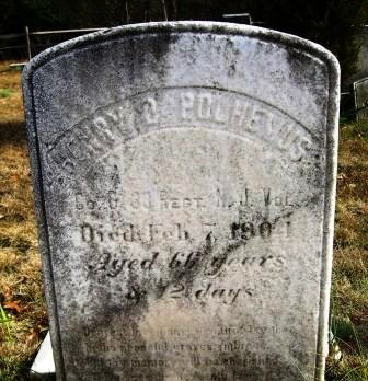 POLHEMUS, HENRY D. - Ocean County, New Jersey | HENRY D. POLHEMUS - New Jersey Gravestone Photos