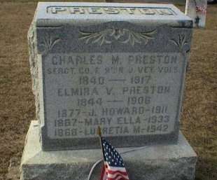 PRESTON, CHARLES M. - Ocean County, New Jersey | CHARLES M. PRESTON - New Jersey Gravestone Photos