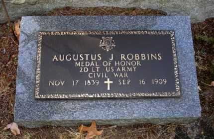 ROBBINS, AUGUSTUS J. - Ocean County, New Jersey   AUGUSTUS J. ROBBINS - New Jersey Gravestone Photos