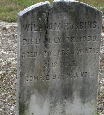 ROBBINS, WILLIAM - Ocean County, New Jersey | WILLIAM ROBBINS - New Jersey Gravestone Photos