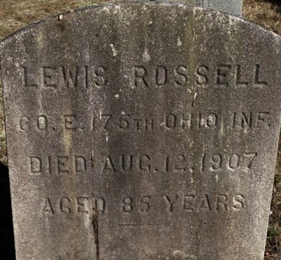 ROSSELL, LEWIS - Ocean County, New Jersey | LEWIS ROSSELL - New Jersey Gravestone Photos