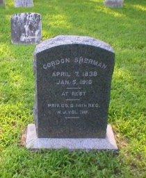 SHERMAN, GORDON - Ocean County, New Jersey | GORDON SHERMAN - New Jersey Gravestone Photos