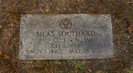 SOUTHARD, SILAS - Ocean County, New Jersey | SILAS SOUTHARD - New Jersey Gravestone Photos