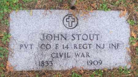 STOUT, JOHN - Ocean County, New Jersey | JOHN STOUT - New Jersey Gravestone Photos