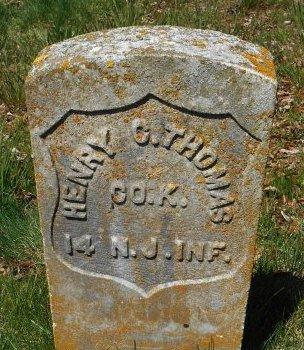 THOMAS, HENRY C. - Ocean County, New Jersey | HENRY C. THOMAS - New Jersey Gravestone Photos