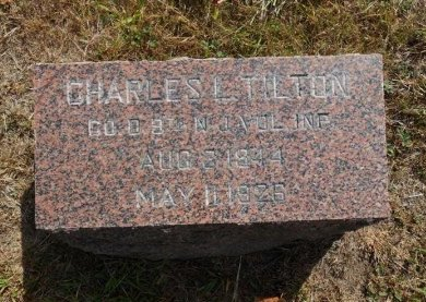 TILTON, CHARLES L. - Ocean County, New Jersey | CHARLES L. TILTON - New Jersey Gravestone Photos