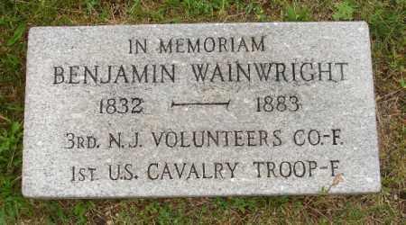 WAINWRIGHT, BENJAMIN - Ocean County, New Jersey | BENJAMIN WAINWRIGHT - New Jersey Gravestone Photos