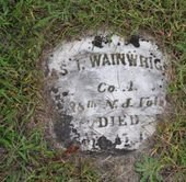 WAINWRIGHT, JAMES I. - Ocean County, New Jersey | JAMES I. WAINWRIGHT - New Jersey Gravestone Photos