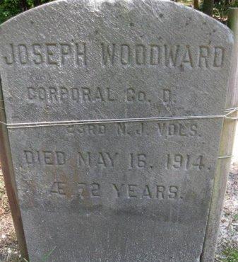 WOODWARD, JOSEPH - Ocean County, New Jersey | JOSEPH WOODWARD - New Jersey Gravestone Photos