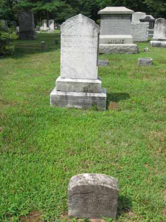 BROWN, CHARLES H. - Passaic County, New Jersey | CHARLES H. BROWN - New Jersey Gravestone Photos
