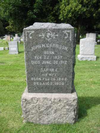 GARRISON, JOHN M. - Passaic County, New Jersey | JOHN M. GARRISON - New Jersey Gravestone Photos
