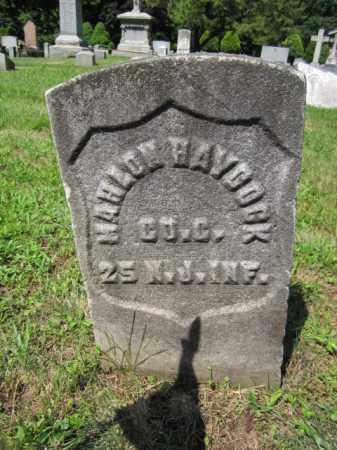 HAYCOCK, MAHLON - Passaic County, New Jersey | MAHLON HAYCOCK - New Jersey Gravestone Photos