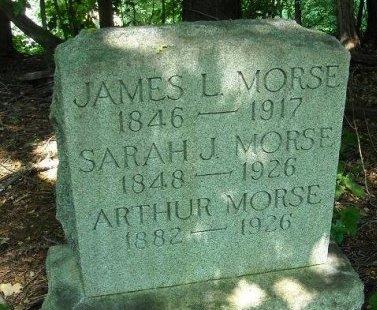 MORSE, JAMES L. - Passaic County, New Jersey | JAMES L. MORSE - New Jersey Gravestone Photos