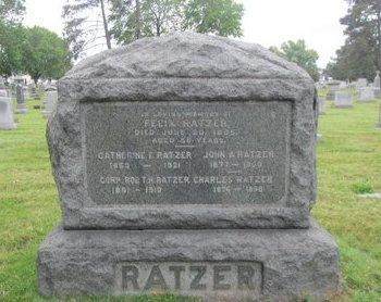 RATZER, FELIX - Passaic County, New Jersey | FELIX RATZER - New Jersey Gravestone Photos