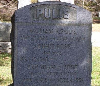 ROSE, ABRAHAM H. - Passaic County, New Jersey   ABRAHAM H. ROSE - New Jersey Gravestone Photos