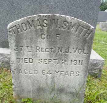 SMITH, THOMAS H. - Passaic County, New Jersey   THOMAS H. SMITH - New Jersey Gravestone Photos