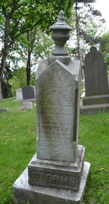 STORMS, ABRAHAM (ABRAM) - Passaic County, New Jersey | ABRAHAM (ABRAM) STORMS - New Jersey Gravestone Photos