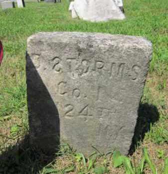 STORMS, DAVID - Passaic County, New Jersey | DAVID STORMS - New Jersey Gravestone Photos