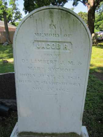 SYTHOFF, JACOB R. - Passaic County, New Jersey   JACOB R. SYTHOFF - New Jersey Gravestone Photos
