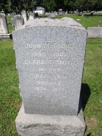 TOURS, JOHN M. - Passaic County, New Jersey | JOHN M. TOURS - New Jersey Gravestone Photos