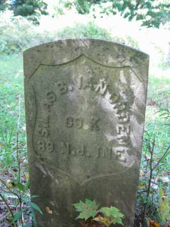 VANORDEN, SILAS B. - Passaic County, New Jersey | SILAS B. VANORDEN - New Jersey Gravestone Photos