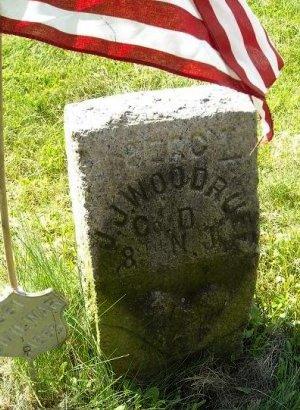 WOODRUFF, JEREMIAH J. - Passaic County, New Jersey | JEREMIAH J. WOODRUFF - New Jersey Gravestone Photos