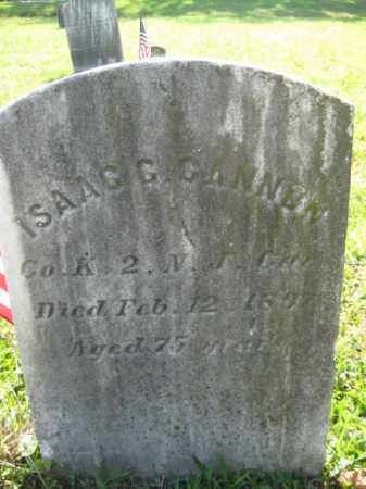 CANNON, ISAAC G. - Salem County, New Jersey | ISAAC G. CANNON - New Jersey Gravestone Photos