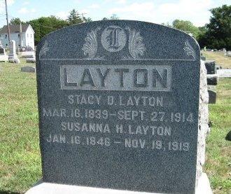 LAYTON, STACY D. - Salem County, New Jersey | STACY D. LAYTON - New Jersey Gravestone Photos