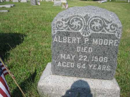 MOORE, ALBERT P. - Salem County, New Jersey   ALBERT P. MOORE - New Jersey Gravestone Photos