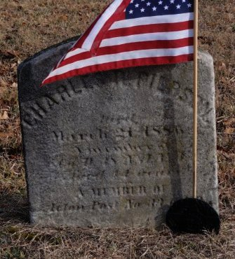 PIERSON, CHARLES R. - Salem County, New Jersey | CHARLES R. PIERSON - New Jersey Gravestone Photos