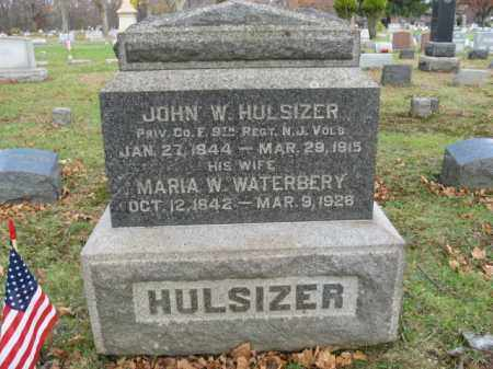 HULSIZER, JOHN W. - Somerset County, New Jersey | JOHN W. HULSIZER - New Jersey Gravestone Photos