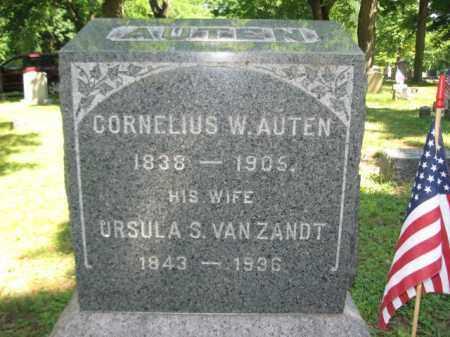 AUTEN, CORNELIUS W. - Somerset County, New Jersey | CORNELIUS W. AUTEN - New Jersey Gravestone Photos