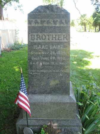 BAIRD, ISAAC - Somerset County, New Jersey | ISAAC BAIRD - New Jersey Gravestone Photos