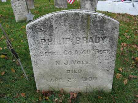 BRADY, SERGT.PHILIP - Somerset County, New Jersey | SERGT.PHILIP BRADY - New Jersey Gravestone Photos
