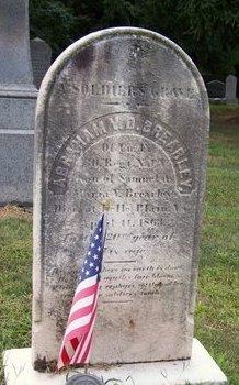 BREARLEY, ABRAHAM  V.D. - Somerset County, New Jersey | ABRAHAM  V.D. BREARLEY - New Jersey Gravestone Photos
