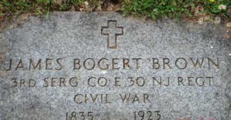 BROWN, JAMES  BOGERT - Somerset County, New Jersey | JAMES  BOGERT BROWN - New Jersey Gravestone Photos