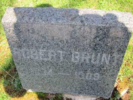 BRUNT, ROBERT - Somerset County, New Jersey | ROBERT BRUNT - New Jersey Gravestone Photos