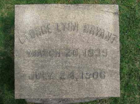 BRYANT, GEORGE LYON - Somerset County, New Jersey | GEORGE LYON BRYANT - New Jersey Gravestone Photos