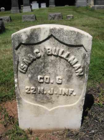 BULLMAN, ISAAC - Somerset County, New Jersey   ISAAC BULLMAN - New Jersey Gravestone Photos