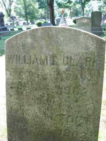 CLARK, WILLIAM F. - Somerset County, New Jersey   WILLIAM F. CLARK - New Jersey Gravestone Photos