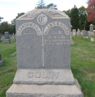 COLBY, ALLEN (ALAN) - Somerset County, New Jersey | ALLEN (ALAN) COLBY - New Jersey Gravestone Photos