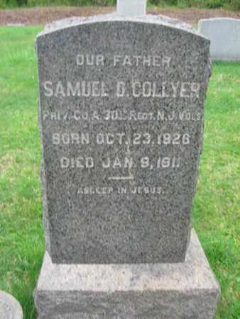 COLLYER, AMUEL D. - Somerset County, New Jersey | AMUEL D. COLLYER - New Jersey Gravestone Photos
