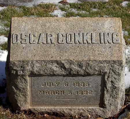 CONKLING (CONKLIN), OSCAR - Somerset County, New Jersey | OSCAR CONKLING (CONKLIN) - New Jersey Gravestone Photos