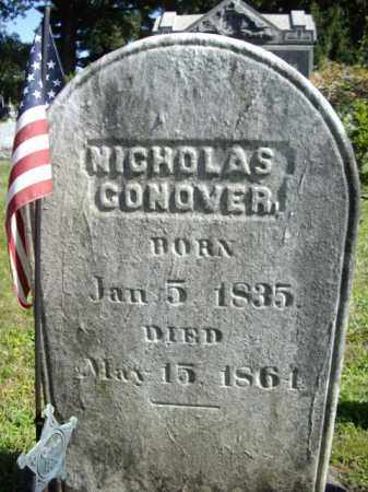 CONOVER, NICHOLAS - Somerset County, New Jersey | NICHOLAS CONOVER - New Jersey Gravestone Photos