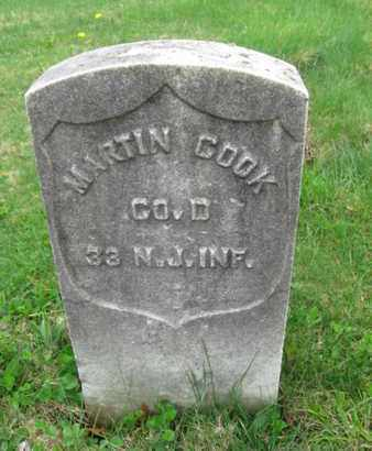 COOK, MARTIN - Somerset County, New Jersey | MARTIN COOK - New Jersey Gravestone Photos