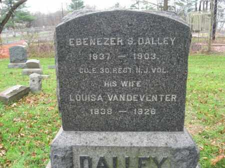 DALLEY, EBENEZER S. - Somerset County, New Jersey   EBENEZER S. DALLEY - New Jersey Gravestone Photos