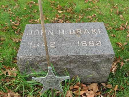 DRAKE, JOHN H. - Somerset County, New Jersey | JOHN H. DRAKE - New Jersey Gravestone Photos