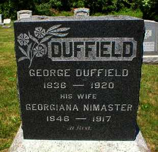DUFFIELD, GEORGE - Somerset County, New Jersey | GEORGE DUFFIELD - New Jersey Gravestone Photos