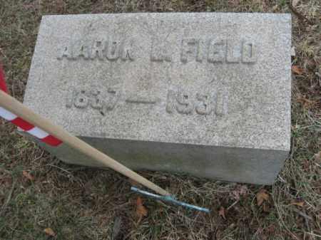 FIELD, AARON L. - Somerset County, New Jersey   AARON L. FIELD - New Jersey Gravestone Photos