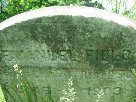 FIELD, EMANUEL - Somerset County, New Jersey   EMANUEL FIELD - New Jersey Gravestone Photos
